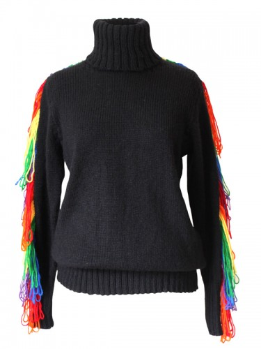 Rainbow Cowboy Sweater